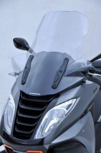 Ermax high windscreen for Metropolis